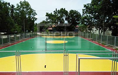 สนามฟุตซอล PU เทศบาลตำบลแม่รำพึง ประจวบคีรีขันธ์ - Nicho ไนโซ