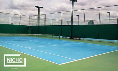 สนามเทนนิส PU สำนักงาน กสทช. - Nicho ไนโซ