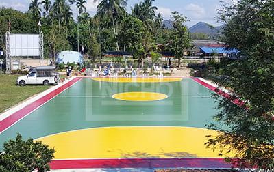 สนามฟุตซอล องค์การบริหารส่วนตำบลพิปูน - Nicho ไนโซ