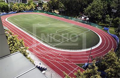 ลู่วิ่ง มหาวิทยาลัยสวนสุนันทา - Nicho ไนโซ