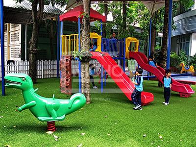สนามเด็กเล่นหญ้าเทียม บางกอก ทวิวิทย์ - Nicho ไนโซ
