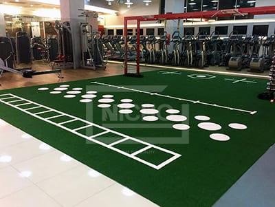 ฟิตเนส หญ้าเทียม Fitness First Central Grand Rama 9 - Nicho ไนโซ