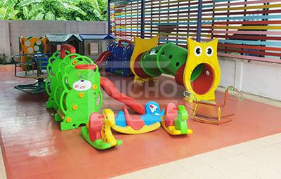 สนามเด็กเล่น ศูนย์พัฒนาเด็ก ท่าตำหนัก - Nicho ไนโซ