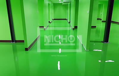 พื้นโรงงาน บริษัท นูทริแมกซ์ ไบโอเทค จำกัด - Nicho ไนโซ