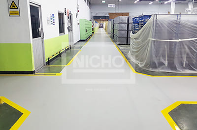 พื้นโรงงาน บริษัท ไทยซัมซุงอิเล็กทรอนิกส์ จำกัด - Nicho ไนโซ
