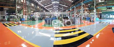 พื้นโรงงาน บริษัท นิชิกาว่า เตชาพลาเลิศ คูปเปอร์ จำกัด - Nicho ไนโซ