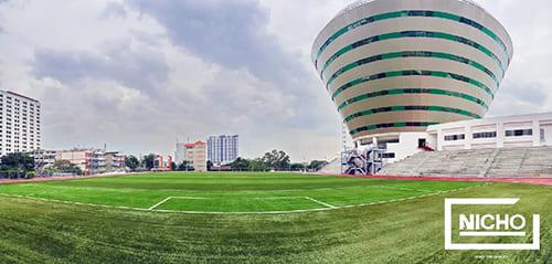 สนามฟุตบอลหญ้าเทียม โรงเรียนโยธินบูรณะ - Nicho ไนโซ