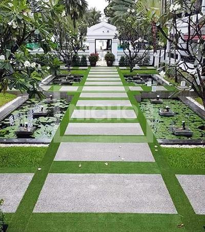 หญ้าเทียมตกแต่ง กานดาบุรี รีสอร์ท แอนด์ สปา - Nicho ไนโซ