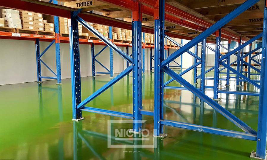 ผลงานไนโซ พื้นพียูคอนกรีต PU Concrete