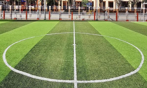สนามฟุตบอลหญ้าเทียม สลับสี
