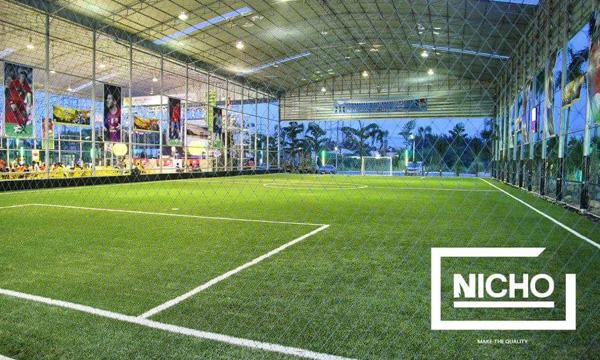 ผลงาน สนามฟุตบอลหญ้าเทียม