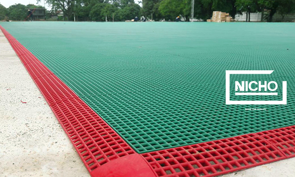 ผลงาน สนามฟุตบอลพื้นโพลิโพรพิลีน โคโพลิเมอร์ (Polypropylene Co-polymer – PP)