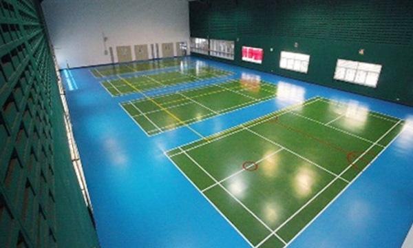 ผลงาน สนามแบดมินตัน (Badminton)