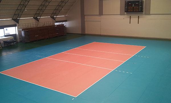 ผลงาน สนามแบดมินตัน & วอลเลย์บอลพื้นพีวีซี (PVC Floor or Vinyl Floor)