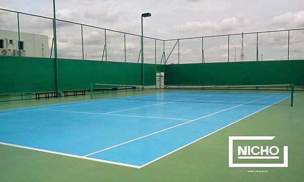 ผลงาน สนามเทนนิสโพลียูรีเทน (Polyurethane – PU)